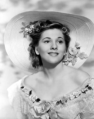 Films By Alfred Hitchcock Photograph - Rebecca, Joan Fontaine, 1940 by Everett
