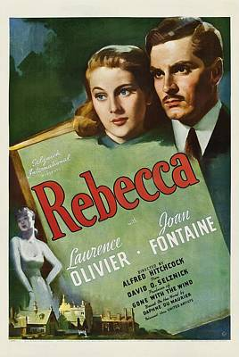 Bpp02-03 Photograph - Rebecca, Joan Fontaine, Laurence by Everett