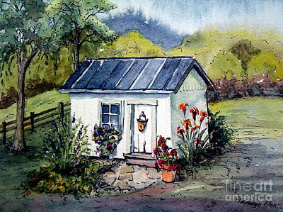 Painting - Rebecca's Shack by Gretchen Allen