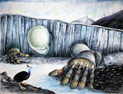 Rebirth Art Print by Amanda Ellis