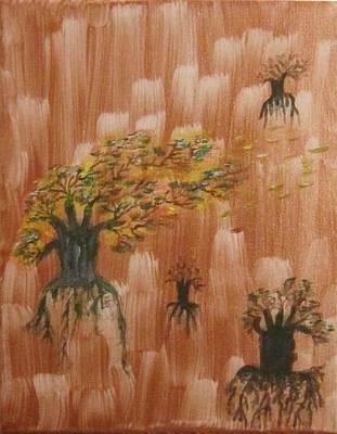 Painting - Rebirth by Jarunee Ward