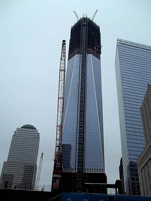 Rebuilding The World Trade Center Art Print