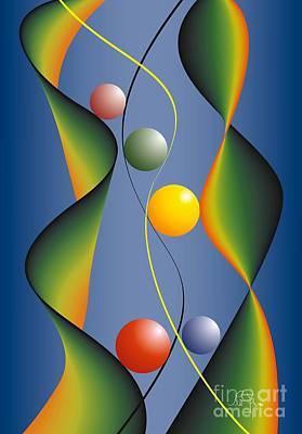 Art Print featuring the digital art Rebus by Leo Symon