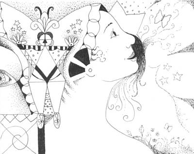 Drawing - Recalling Dreams by Helena Tiainen