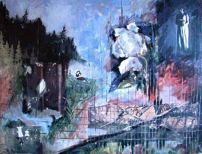 Image Transfer Mixed Media - Recapturing Innocence by Donna Gallant