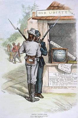 Ballot Wall Art - Photograph - Reconstruction, 1879 by Granger