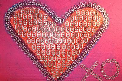 Recycled Love Art Print by James Briones