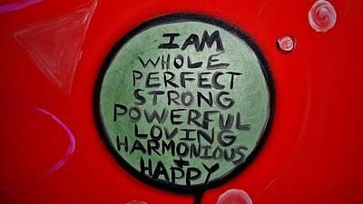 Greenworldalaska Photograph - Red Affirmation by Cory Green