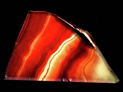 Mixed Media - Red Agate  by Bruce Ritchie