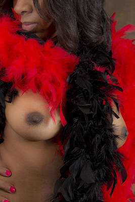 Photograph - Red And  Black by Heavenly Bodies