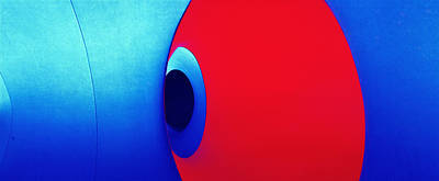 Photograph - Red And Blue by Jan W Faul