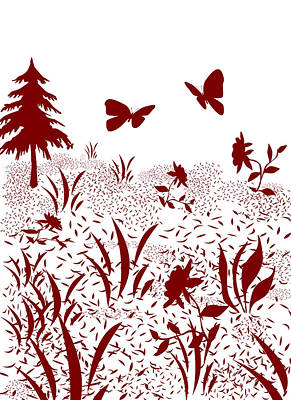 Painting - Red And White Version by Lisa Stanley