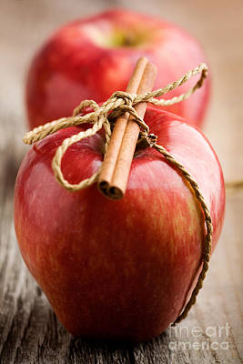 Photograph - Red Apples by Kati Finell
