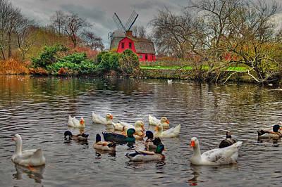 Red Barns Photograph - Red Barn by Joann Vitali