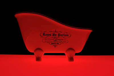 Photograph - Red Bath by Radoslav Nedelchev