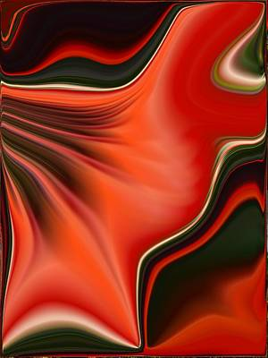 Painting - Red Beauty by Renate Nadi Wesley