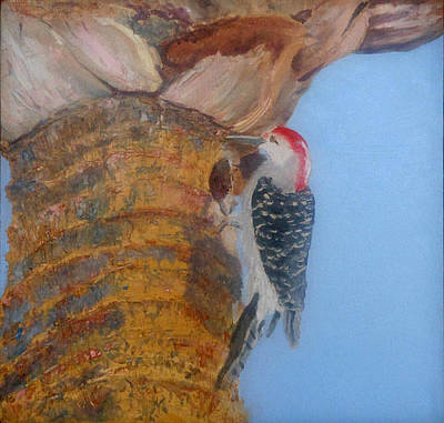 Painting - Red Belly by Libby  Cagle