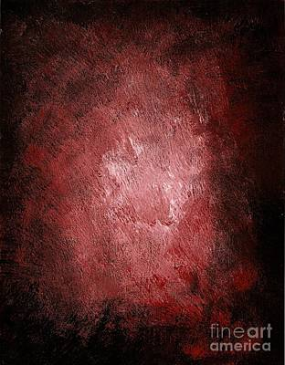 Painting - Red Bliss by Michael Grubb