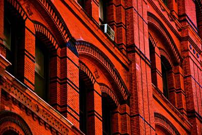 Photograph - Red Brick Work by Eric Tressler