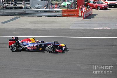 Photograph - Red Bull - Mark Webber by David Grant