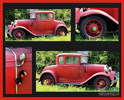Photograph - Red Car by Lorraine Louwerse