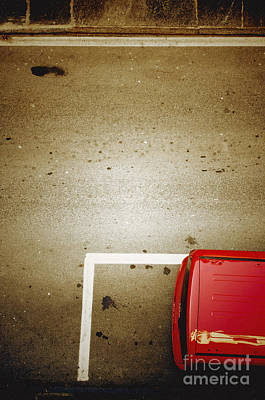 Photograph - Red Car by Silvia Ganora