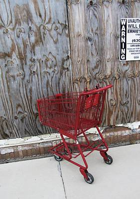 Photograph - Red Cart by Todd Sherlock