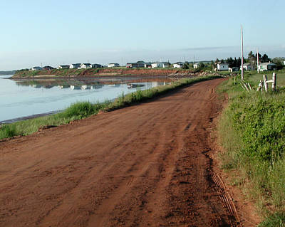 Photograph - Red Clay Road by Barry Doherty