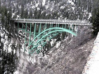 Wall Art - Digital Art - Red Cliff Bridge Double Take by Bill Kennedy