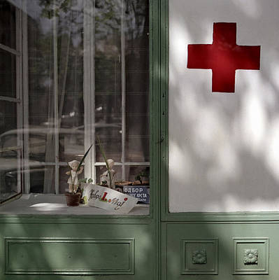 Photograph - Red Cross. Belgrade. Serbia by Juan Carlos Ferro Duque