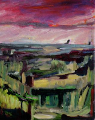 Painting - Red Dawn by Carolyn Zaroff