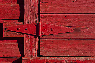 Red Doors Photograph - Red Door Henge by Garry Gay