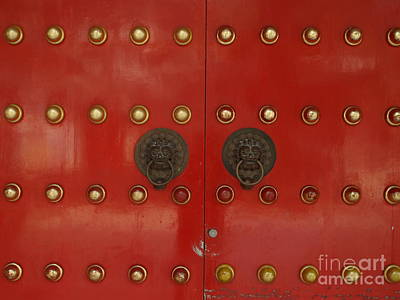 Photograph - Red Door by Michael Canning