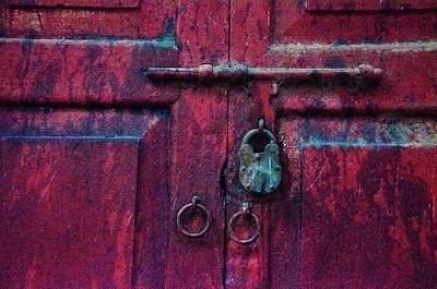 Photograph - Red Door by Valerie Rosen