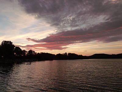 Red Dragon Lake Original by Brian  Maloney
