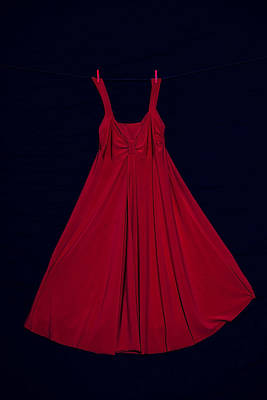 Red Dress Art Print by Joana Kruse