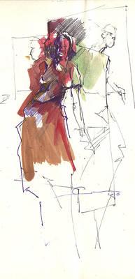 RED Art Print by Ertan Aktas
