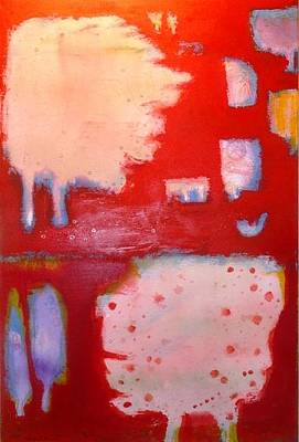 Painting - Red Fall by Khalid Alaani