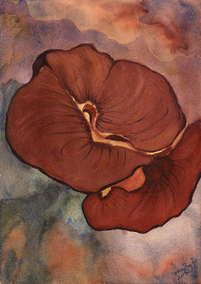Painting - Red Flower by Joan Zepf