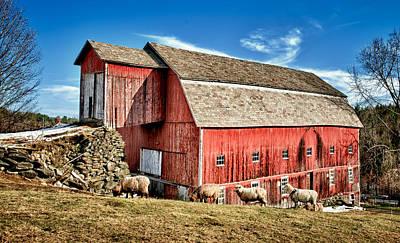 Red Gate Farm Art Print by Fred LeBlanc