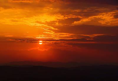 Photograph - Red Horizon by Bogdan M Nicolae