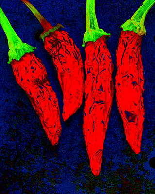 Photograph - Red Hot Chili by Stephen Anderson