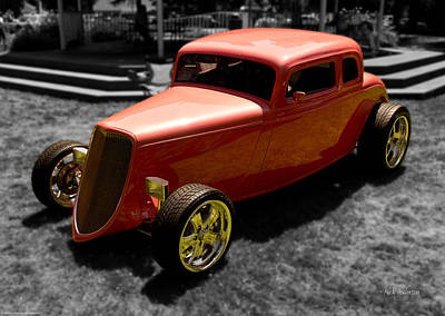 Photograph - Red Hot Rod by Mick Anderson