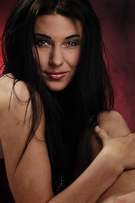 Sexy Women Photograph - Red IIi by Rick Berk