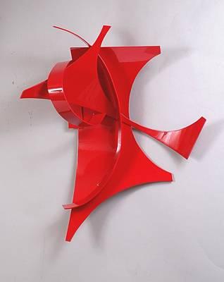 Red Incident Art Print by Mac Worthington