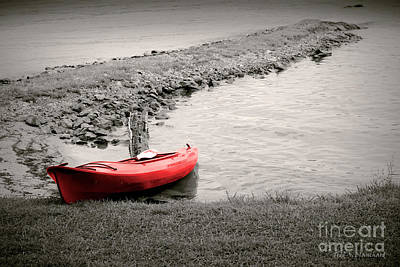 Photograph - Red Kayak by Todd Blanchard
