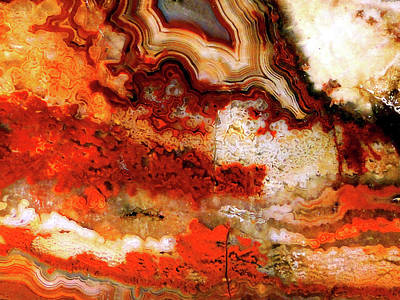 Mixed Media - Red Lace by Bruce Ritchie
