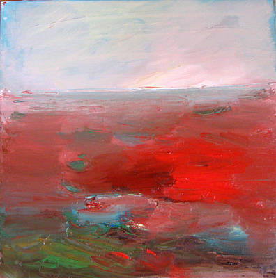 Painting - Red Landscape by Brooke Wandall