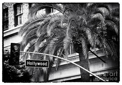 Photograph - Red Light In Hollywood by John Rizzuto