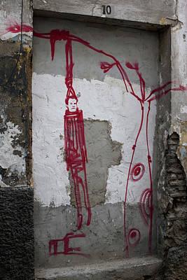 Photograph - Red Man Hanging by Lorraine Devon Wilke